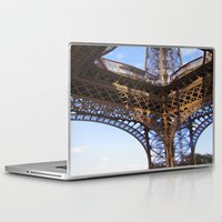 eiffel Laptop & iPad Skins featuring Eiffel by Mario Sa