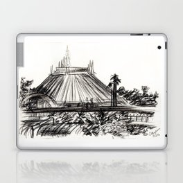 Space Mountain Laptop & iPad Skin
