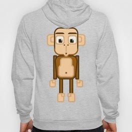 Super cute animals - Cheeky Brown Monkey Hoody