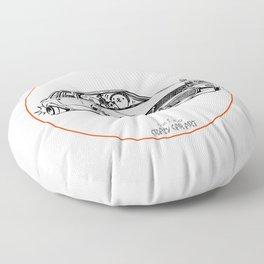 Crazy Car Art 0208 Floor Pillow