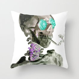 Van Growth Inverted Throw Pillow