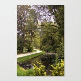 DE - Baden-Wurttemberg : Gardens of Laupheim Canvas Print