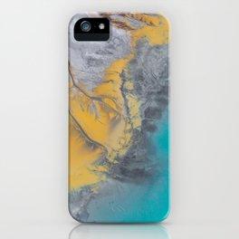 Turquoise World iPhone Case