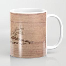 Gnarly Air Dude! (On Wood) Coffee Mug