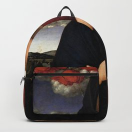 Giovanni Bellini - Madonna of the Red Cherubims Backpack