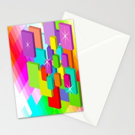 Blocked View Stationery Cards