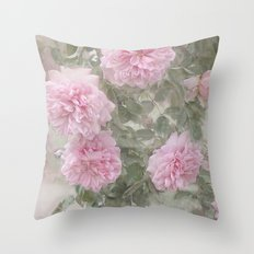 Rosen Blüten Throw Pillow