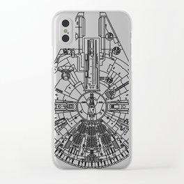 Millenium Falcon Clear iPhone Case