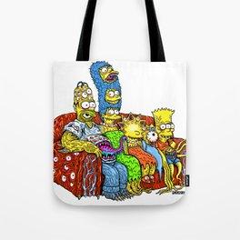 Monster Family Tote Bag