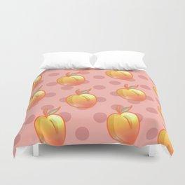 Sweet Peach Duvet Cover