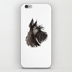 Scottish Terrier profile iPhone & iPod Skin