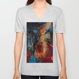 Gertrude, the Fairy of Grace Unisex V-Neck
