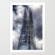 The Shard Art Art Print