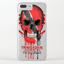 To The Core Collection: Trinidad & Tobago Clear iPhone Case