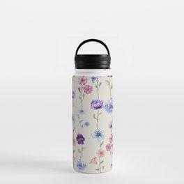 Line up of Petals Water Bottle