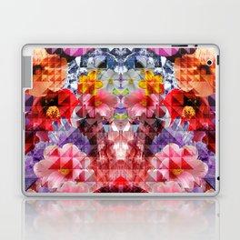 Crystal Floral Laptop & iPad Skin