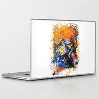 moto Laptop & iPad Skins featuring Moto Splash by Joshua Meno