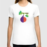 fig T-shirts featuring Fruit: Fig by Christopher Dina