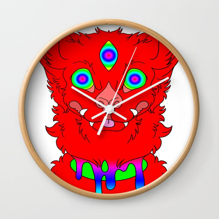 Toxicity Wall Clock