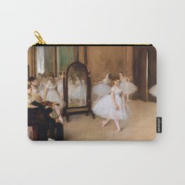 The Dancing Class by Edgar Degas Carry-All Pouch