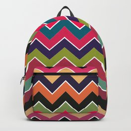Colorful Wave Backpack