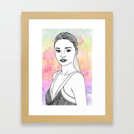 Miranda.K Framed Art Print