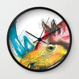The Rhino Wall Clock