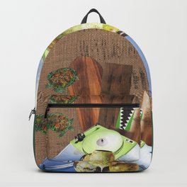 I Like Turtles Backpack