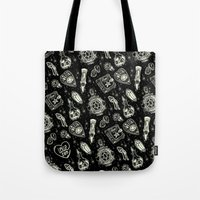 loll3 Tote Bags featuring Magical Mystical  by lOll3