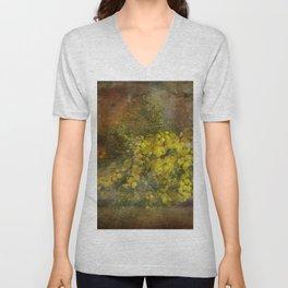 Mimosa Flowers Unisex V-Neck