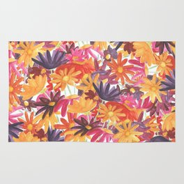 Sunset Flower Rug