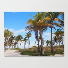 Key Biscayne Canvas Print