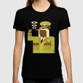 Major Winston Bulldog T-shirt