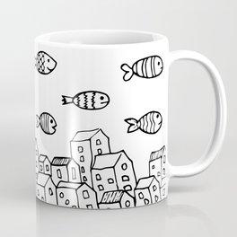 Underwater village Coffee Mug