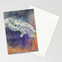 God and human Stationery Cards