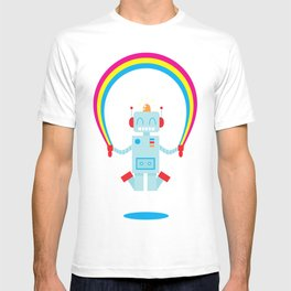 Skipping a Rainbow T-shirt