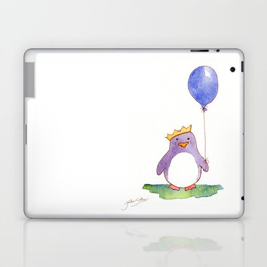 Celebration Penguin Laptop & iPad Skin