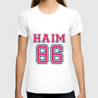 haim T-shirts featuring HAIM 86 by it's haim time