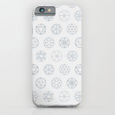 Geocircles (Blue) Slim Case iPhone 6s
