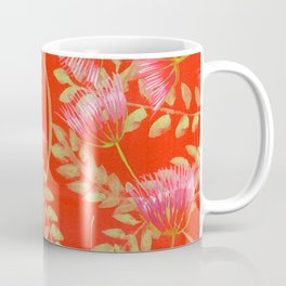 Mimosa with Green Leaves Coffee Mug