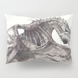 Paarthurnax from Skyrim ; Skyrim Dragon ; Fantasy Art Pillow Sham