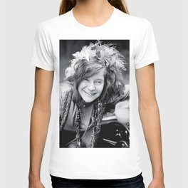 Janis Jo-plin vintage classic, photo, housewarming gift for him/her, photo print, vintage poster, music poster, wall decor, iconic poster T-shirt