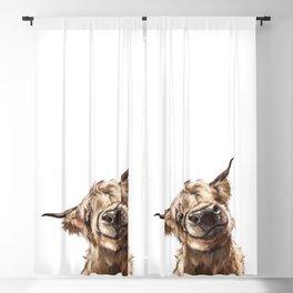 Highland Cow Blackout Curtain