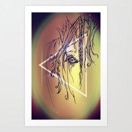 Delicate: Triangled Art Print