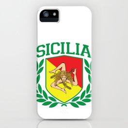 Sicily Shield iPhone Case