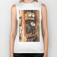 telephone Biker Tanks featuring Telephone by Imaginatio