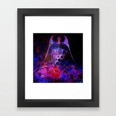 Darth Abstract Vader Framed Art Print