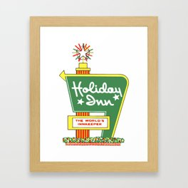 HOLIDAY INN 2 Framed Art Print