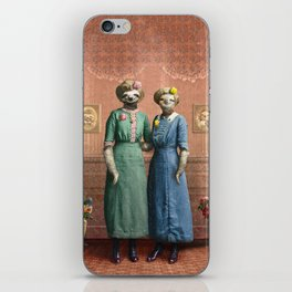 The Sloth Sisters at Home iPhone Skin