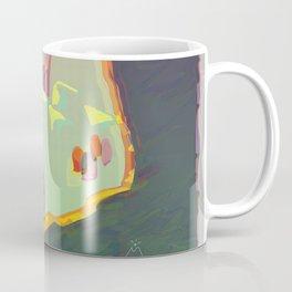 Red Moon Summer Vibrations Coffee Mug